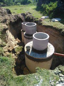 kanalizacijos talpyklos